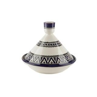 Berber Design Blue & White Serving Tagine