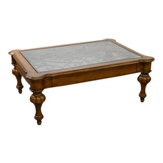 Ethan Allen Devereaux Tuscan Style Coffee Table (B)