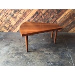 Image of American of Martinsville Walnut Inlay Coffee Table