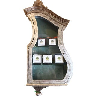 Antique Keyhole Hanging Vitrine