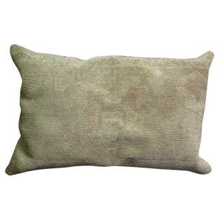 Vintage Wool Rug Pillow
