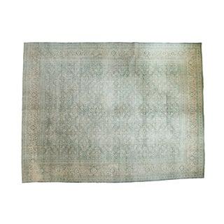 "Vintage Distressed Mahal Carpet - 10'4"" x 13'4"""