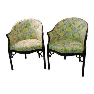 Brighton Pavilion Club Chairs - A Pair