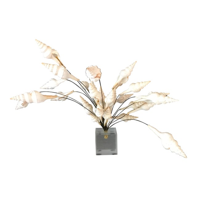 Image of Seashell Bouquet Sculpture