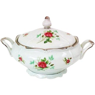 German Soup Tureen Covered Serving Dish