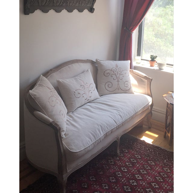 Salerno French-Style Settee - Image 4 of 4