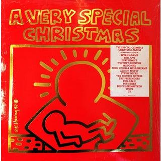 Vintage Keith Haring Vinyl Cover Art