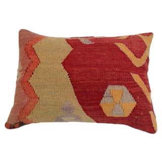 Vintage Turkish Kilim Accent Pillow