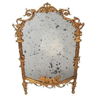 Elegant Louis XV Style Old Mirror
