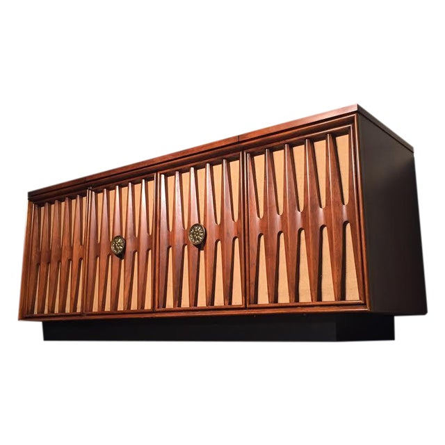 Mid-Century Modern Stereo Console/Credenza - Image 1 of 11