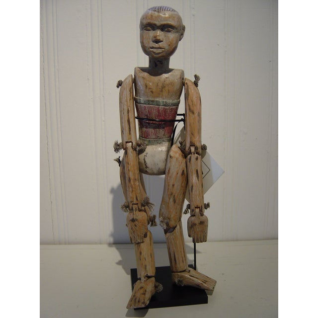 Image of Vintage Wood Performance Puppet From Java
