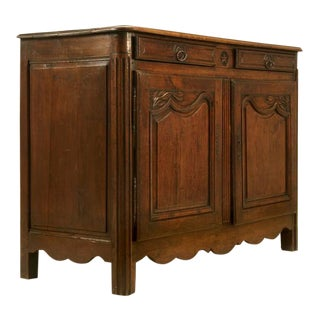 Antique French Buffet with Star Motif