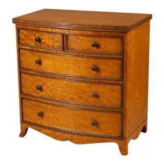 George III Satinwood Miniature Table Cabinet