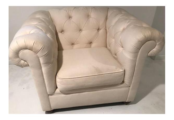 restoration hardware club chair
