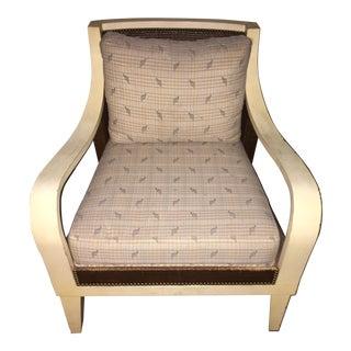 Vintage Palecek Occasional Chair With Nailhead Trim