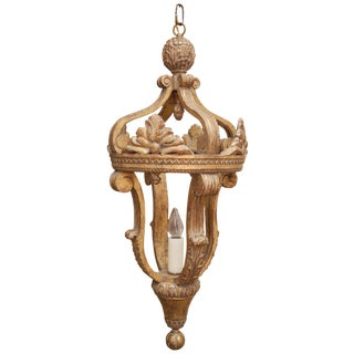 Arezzo Gilt Single Light Lantern By Formations