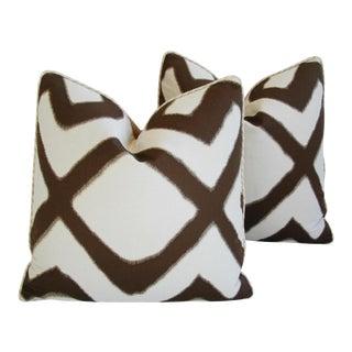 Contemporary Zimmer-Rohde Travers/Velvet Pillows - a Pair