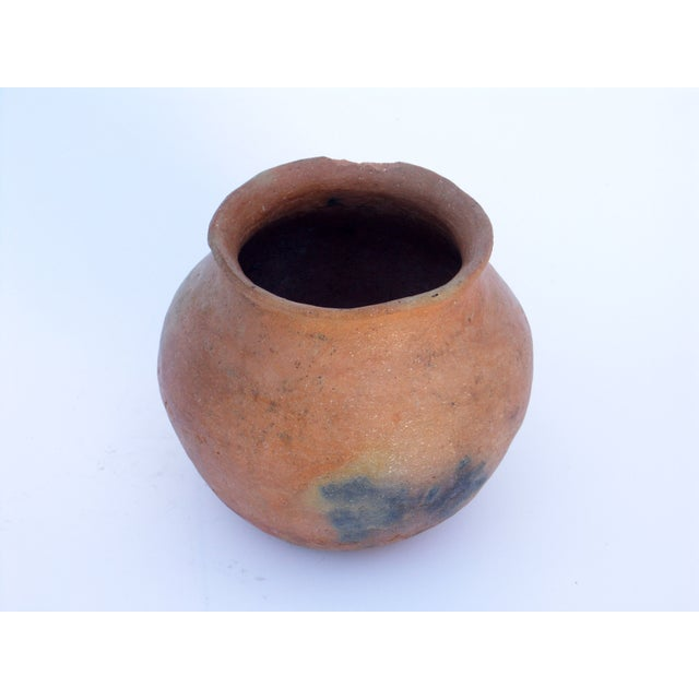 Clay Pot Planter & Metal Stand - Image 6 of 7