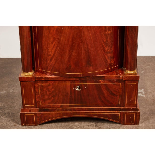 19th Century Danish Mahogany Empire Cabinet - Image 4 of 11