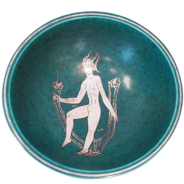 Gustavsberg Argenta Footed Bowl - Image 1 of 4