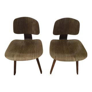 Eames Style Mid-Century Children's Bentwood Chairs- A Pair