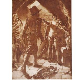 1899 Photogravure of William de Leftwich Dodge's Fidelio Opera Painting
