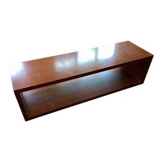 Minimalist Rosewood Bench or Coffee Table