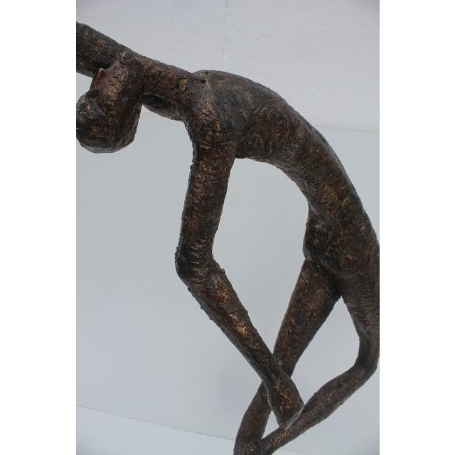 Image of Vintage Floor Nude Woman Sculpture