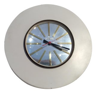Howard Miller Mid-Century Modern Wall Clock