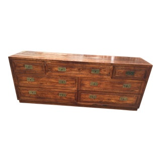 Hernedon Campaign Dresser With Brass Pulls