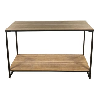 Modern Two-Tier Console Table