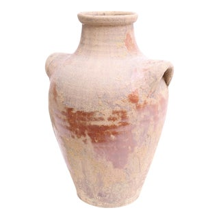 Large Italian Terracotta Jar Vase