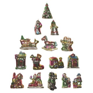 Christmas Mini Ornaments - Set of 15