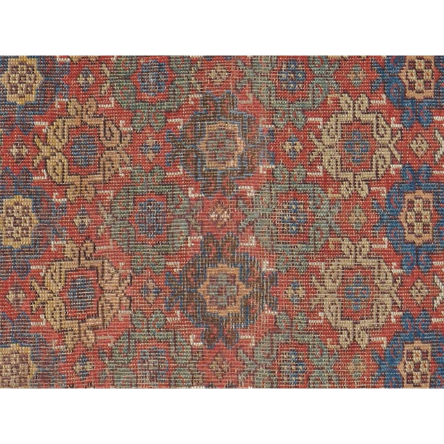 "Antique Persian Distressed Rug - 3'10"" X 6'6"" - Image 2 of 4"