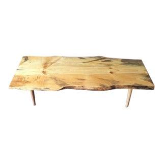Live Edge Northern California Pine Coffee Table