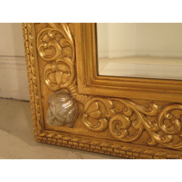 Friedman Brothers Custom Mirror With Cherub Heads - Image 6 of 11