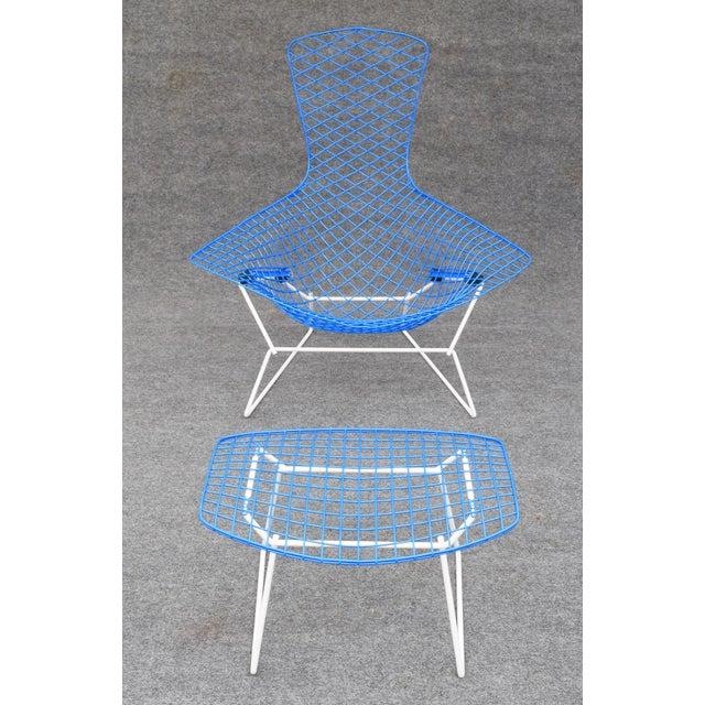 """Mid-Century Modern """"Bird"""" Chair & Ottoman - Image 2 of 10"""