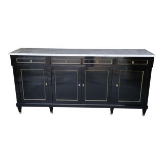 19th Century Ebonized Louis Philippe Buffet