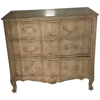 Victorian Tan Three Drawer Dresser