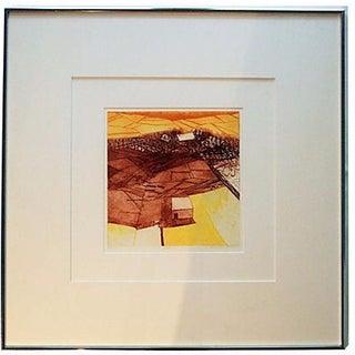 """Farm"" Abstract Painting by Ruson Graeme"