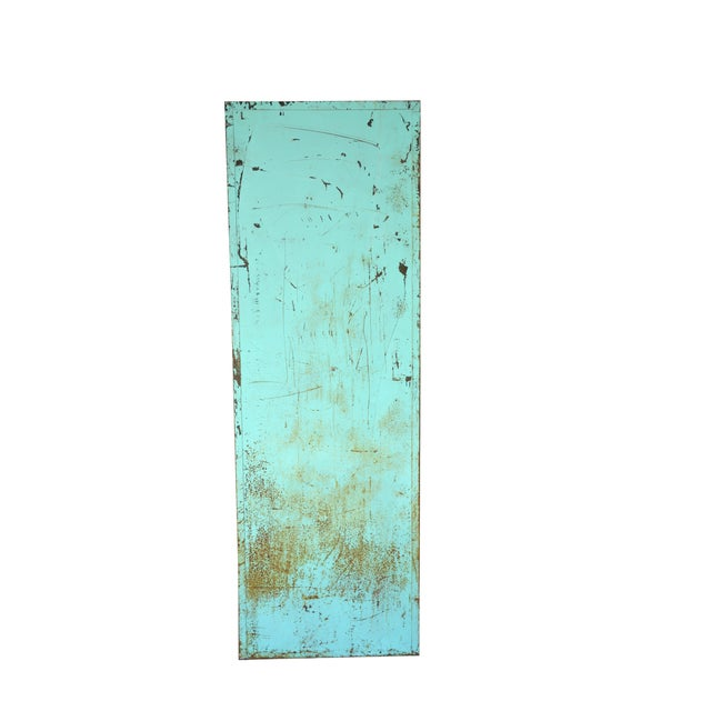 Industrial Turquoise Filing Cabinet - Image 4 of 7