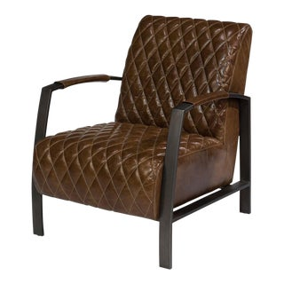 Sarreid LTD Diamond Quilt Lobby Chair