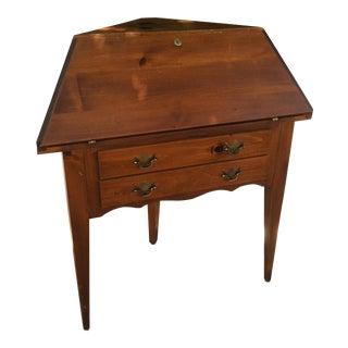 Mid-Century Corner Secretary Desk