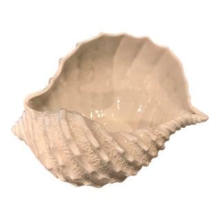Italian Decorative Conch Sea Shell Bowl