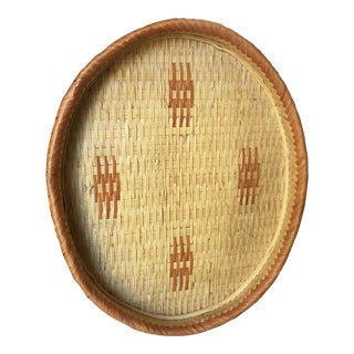 Oval Woven Wall Hanging Basket