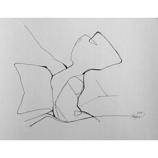 "Minimalist ""Sunday Morning"" Drawing"