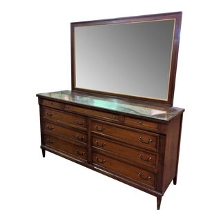 Phenix Furniture Co. Mid-Century Modern Dresser with Mirror