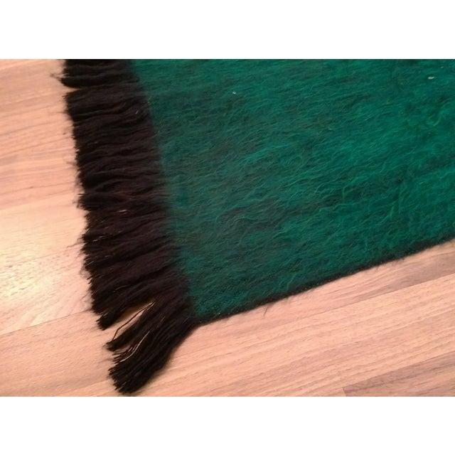 Emerald green alpaca throw from ecuador chairish - Emerald green throw blanket ...