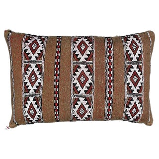 Diamond Striped Moroccan Berber Pillow