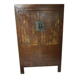 Antique Cabinet With Hidden Storage